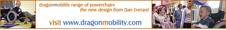 dragonmobility range of powerchair - new design from Dan Everard